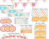 Vintage Carnival Circus Party Printable Pack