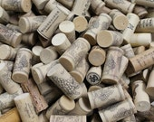 Sale! 100 Synthetic Wine Corks - wine cork crafts - DIY supply