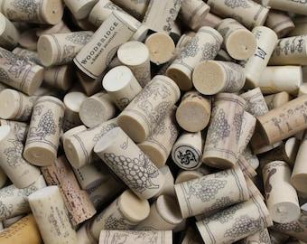 Sale! 100 Synthetic Wine Corks - wine cork crafts - DIY supply
