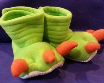Dinosaur Slippers Monster Feet