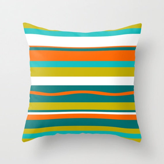 Modern Throw Pillow Mid Century Modern Pillow Mod Pillow
