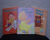 Book:  Three Junior Elf Books for Babies, Babys Songs, Babys Games and Babys Things, 1989