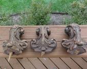 Vintage wood adornments