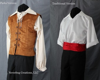 Prince Eric Costume - Two Versions