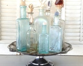 Reserved for Leah~ Antique Apothecary Collection And Stoppers
