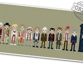 The *Original* Pixel People - The Doctors - PDF Cross-stitch Pattern - INSTANT DOWNLOAD