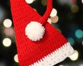 INSTANT DOWNLOAD Santa Hat Crochet Pattern