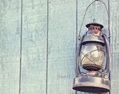 Vintage Lantern - Cottage Shabby Chic - Rustic Home Decor - Baby Nursery - Nautical Decor - Fine Art Photograph