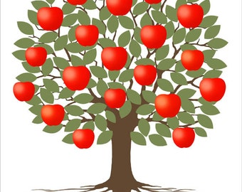 Popular items for classroom gift on etsy for Apple tree classroom decoration