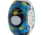 Lovely Animals Handmade Murano Glass Bead with 925 Sterling Silver Core Fit 3mm Bracelet