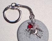 Custom Animal Angel Keychain
