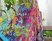 Soft Cotton Patchwork Skirt - OM1409-03