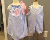 Girls pillowcase dress and jonjon by gigibabies