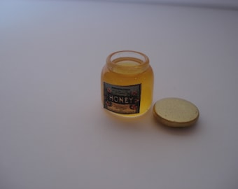 Miniature honey jar