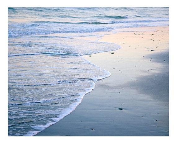 Art, Photography, Charleston, Sand, Sea, Ocean Photography, Beach Home, Coastal Decor, Rose Quartz, Serenity