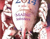 2014 Calendar - The Year in Maine Lobsters