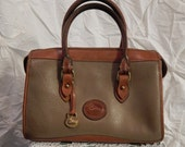 AWL ---Authentic Vintage DOONEY and BOURKE --Speedy ----Pebbled Leather