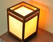 Japanese Style Light Accent Lamp Lantern Minimalism Arts & Crafts Lighting Decor - TheVelvetBranch