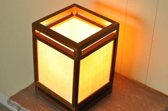 Japanese Style Light Accent Lamp Lantern Minimalism Arts