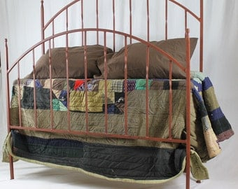Blacksmiths Style Iron Bed Queen Size