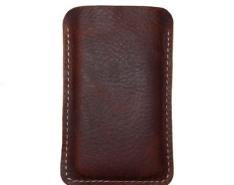 Frontier Bison iPhone 5S Leather Sleeve