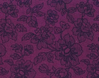 SALE! Michael Miller Fabric by the Yard Cotton Midnite Gems in Jewel Zelda One Yard