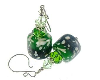 Lampwork Boro Earrings