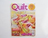 Quilt Magazine Half Price Sale: Stash Showcase- August/September 2011, Quilt Patterns, Quilt Ideas, Magazine