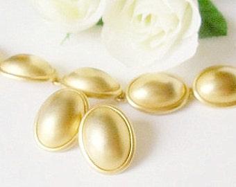 Erwin Pearl Bracelet- Gold Bracelet Earrings Set- P E P Bracelet- 1980 Bracelet- Oval Link Bracelet