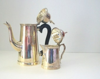 Vintage Silver Teapot Ornate EPNS made in India