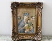 Vintage Religious Icon Picture