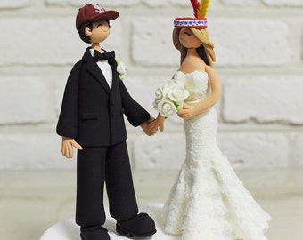 Sports, indian theme wedding cake topper, wedding decoration