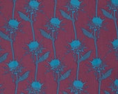 PRETTY POTENT - Anna Maria Horner - Mary Thistle in Eggplant  PWAH073 - Free Spirit Fabric - 1 Yard