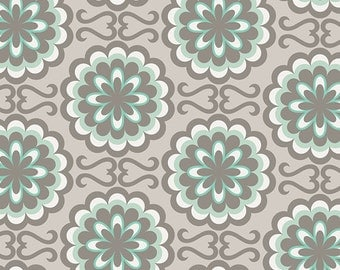 Fancy Buttons in Grey (CHR-1001) - CHROMATICS - Art Gallery Fabric - Pat Bravo  - By the Yard