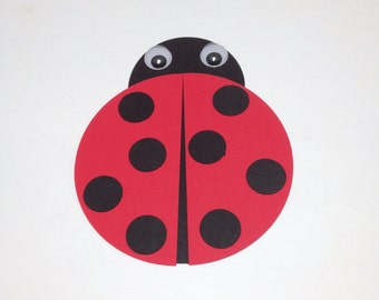 Ladybug craft kit for kids