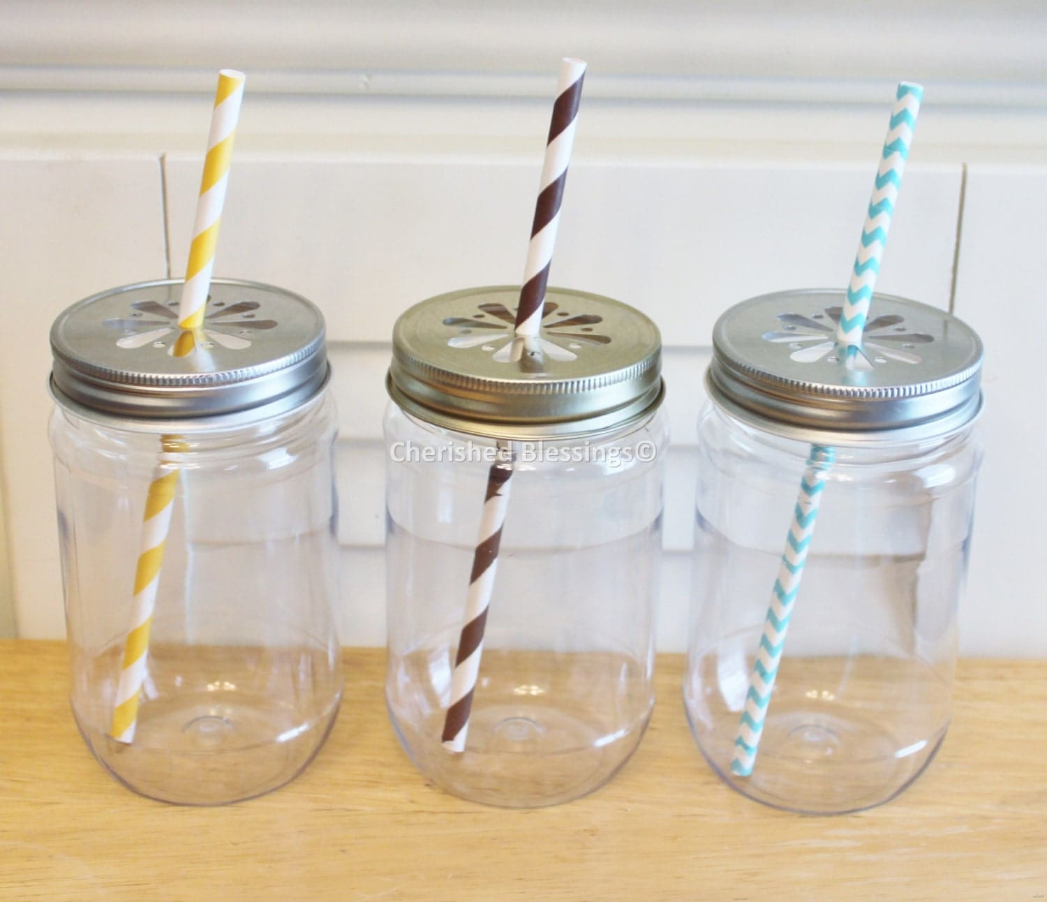 Plastic Mason Jars With Lids Hot Etsy Find
