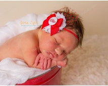 Detroit Red Wings Headband, Detroit Red Wings baby, Baby Girl Hairbow, Detroit Red Wings bow, Detroit Red Wings shirt,Detroit Red Wings tutu