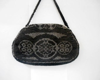 Vintage small beaded evening Bag