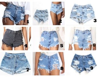 PICK ANY 2 Shorts 59.99+  Custom Made High Waist Shorts