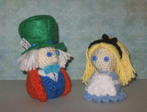 Mad Hatter Amigurumi : Alice/Mad Hatter Amigurumi Doll