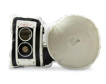Vintage Kodak Duaflex II Printed Pillow