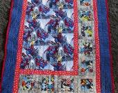 48x64in Spider-Man Quilt