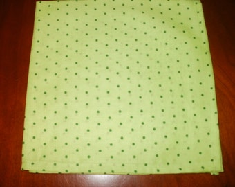 Sale...6 Large Napkins...17 inches...Stitched Hems NOT Serged...FREE SHIPPING