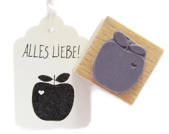 apple stamp