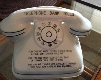 Telephone Bank  Made in Japan 1950's