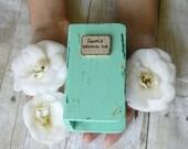 Wedding tiny Book-box engagement ring box personalized ring wedding box