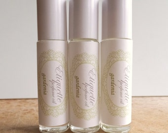 Gardenia Perfume Oil 10ml Roll-On Fragrance