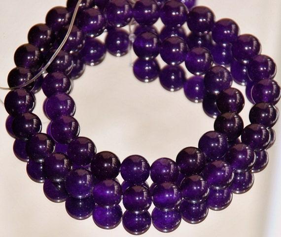 What Color Is Onyx Gemstone : Half strand mm dark purple color agate onyx gemstone beads