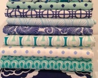 Fat Quarters Bundle of Drift by Angela Walters for Art Gallery Fabrics