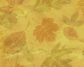 Fall Leaves Furniture and Craft Stencil for DIY Decor